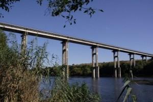 Первомайский мост Роупджампинг
