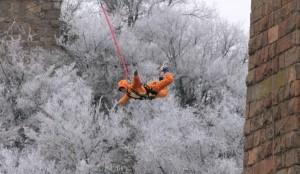 Прыжки на динамической веревке в Кривом рогу. Роуп джампинг в Украине