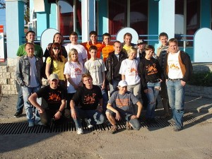 Участники прыжков в Качи-Кальоне