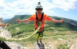Прыжки со скалы Качи Кальон