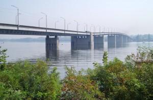 Южный мост прыжки с моста в Днепропетровске