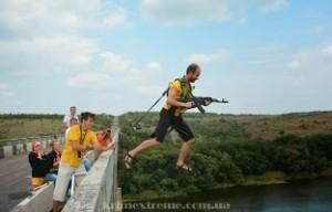 Прыжки с моста в Одессе