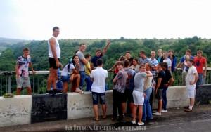 Прыжок с Ивановского моста